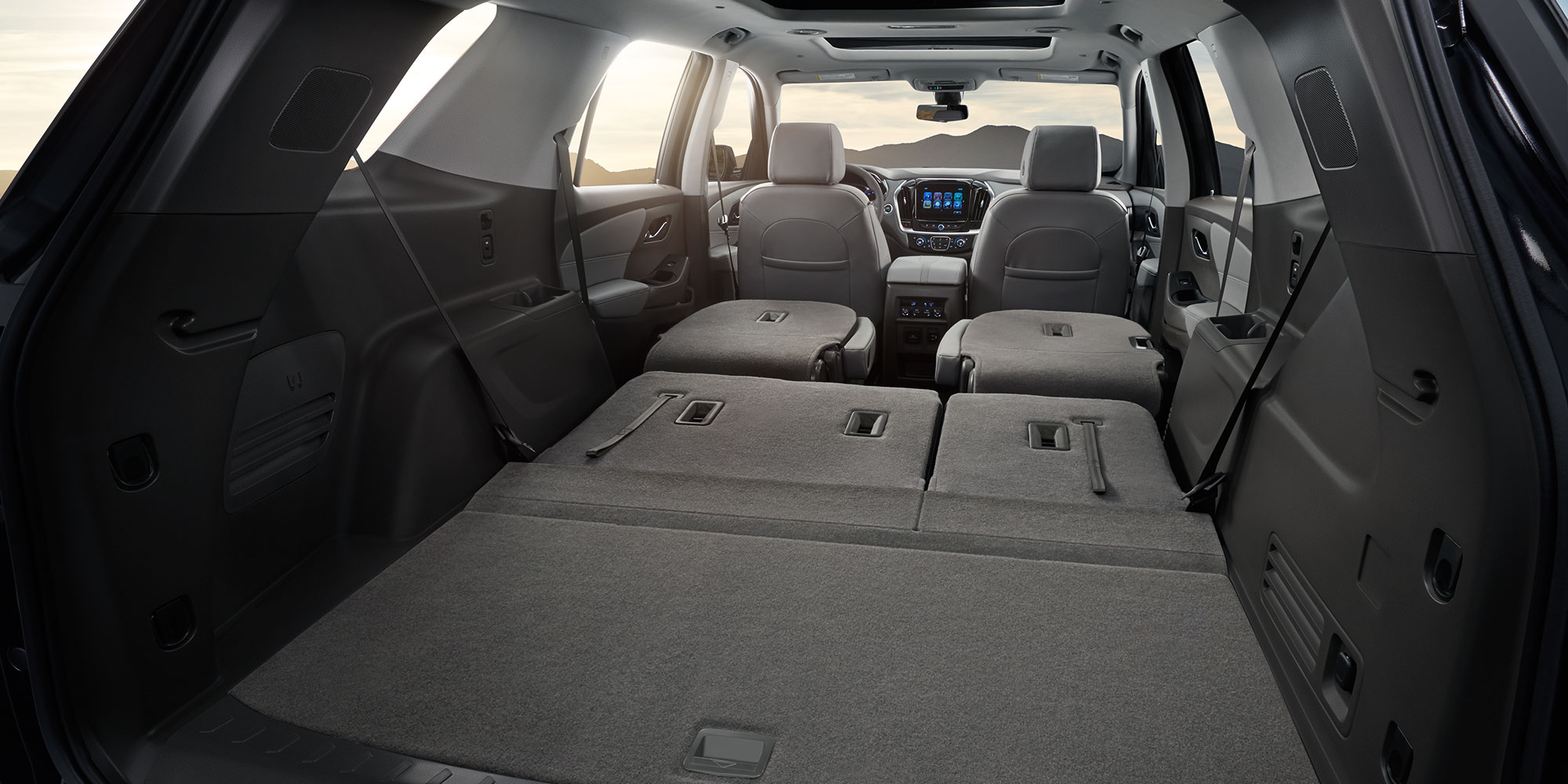 You'll Love the Traverse's Massive Interior