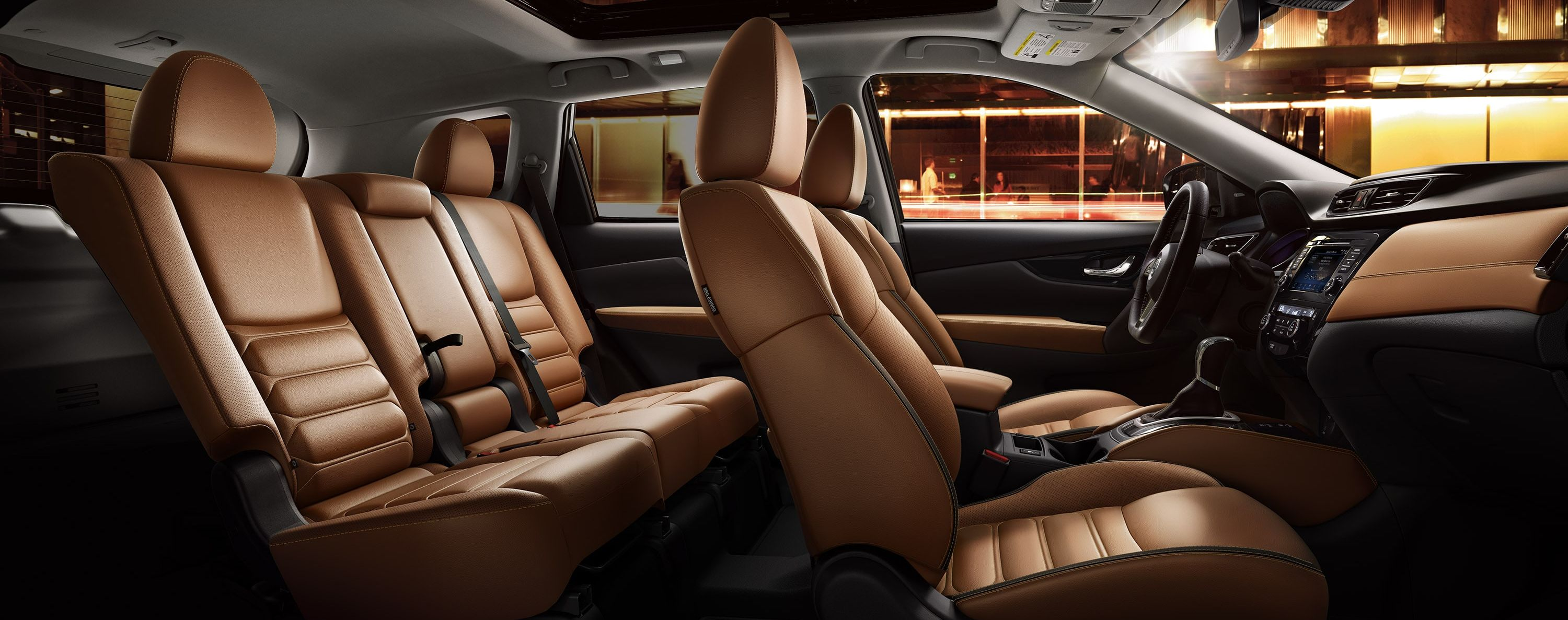 Room to Stretch out in the 2019 Rogue!