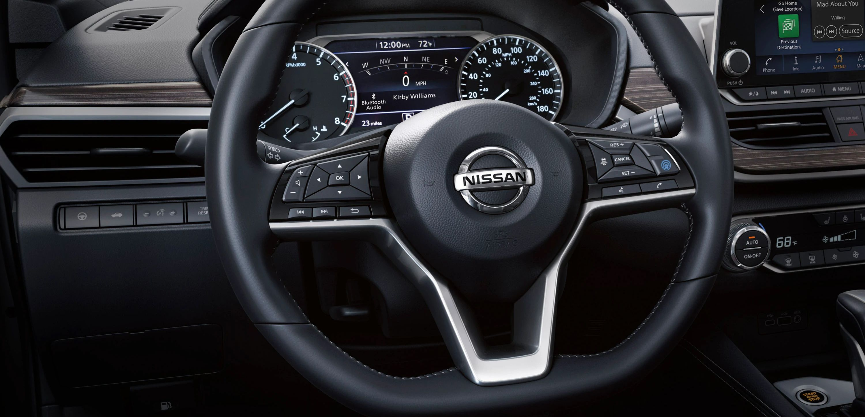 2019 Altima Steering Wheel