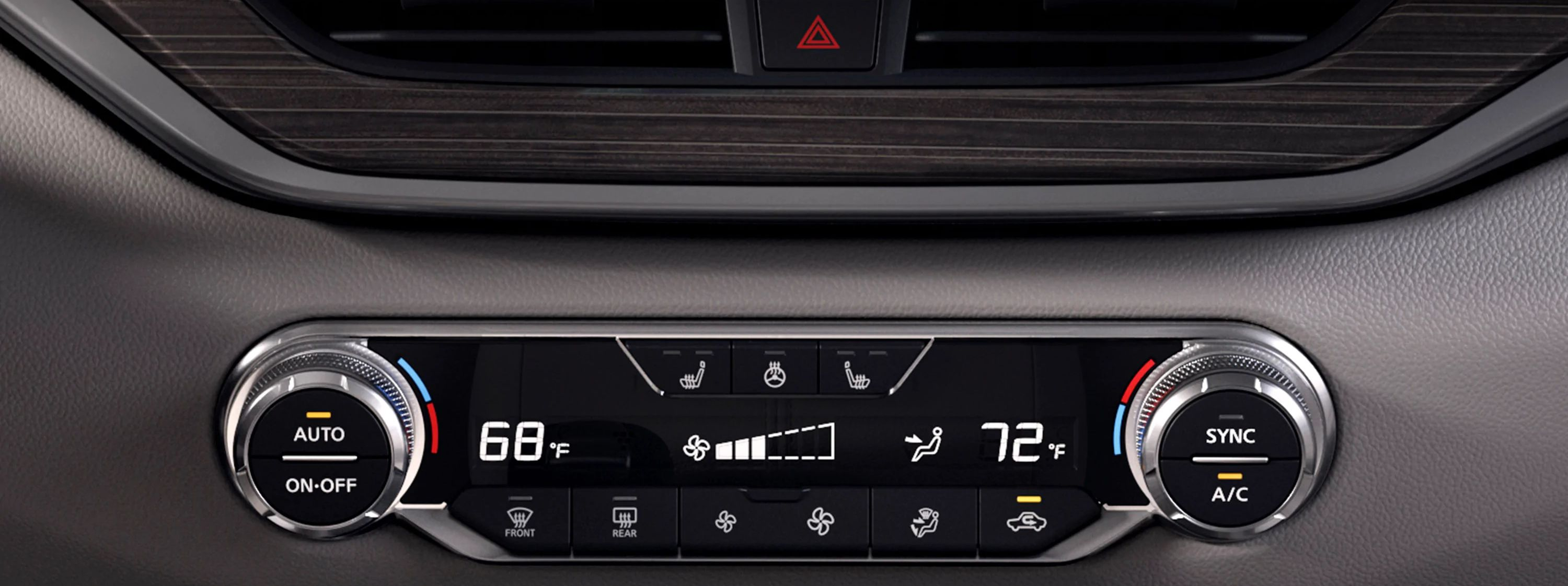 Advanced Climate Control in the 2019 Altima