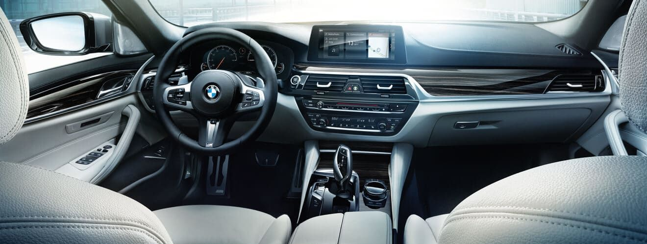 Interior of the 2019 5 Series