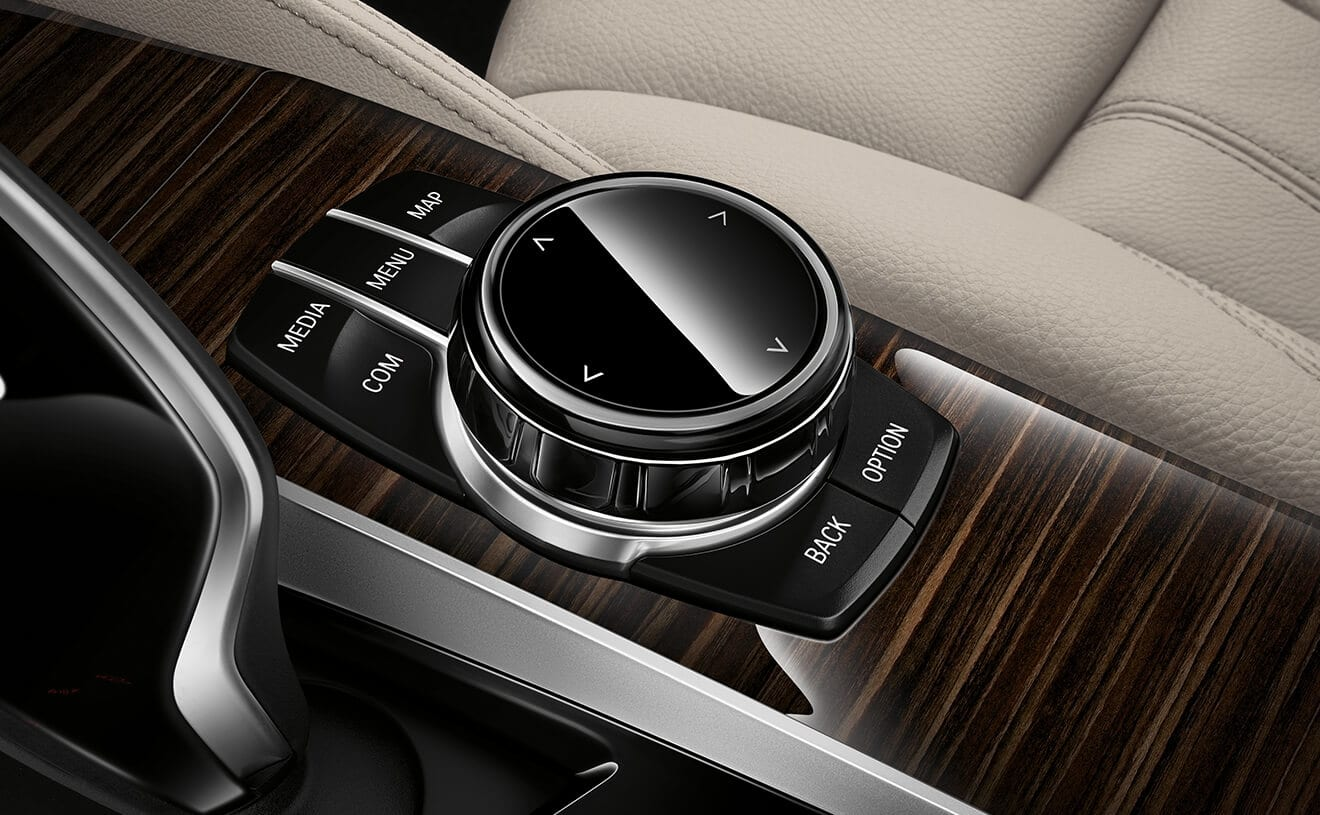 Intuitive Controls in the 2019 BMW 5 Series