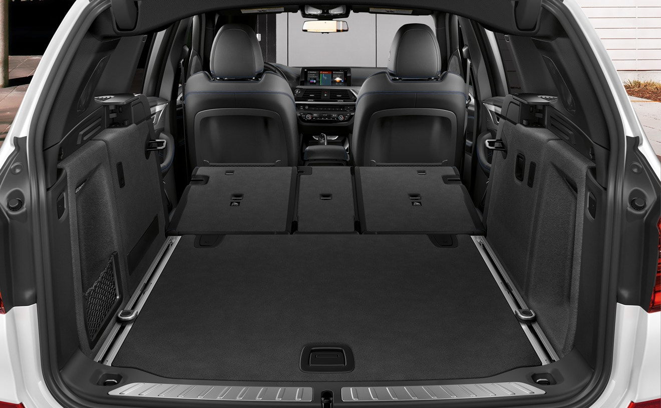 Ample Cargo Space in the 2019 X3