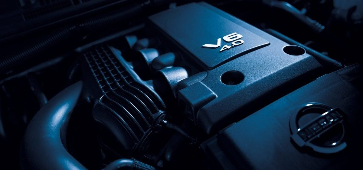 2019 Frontier Available V6 Engine
