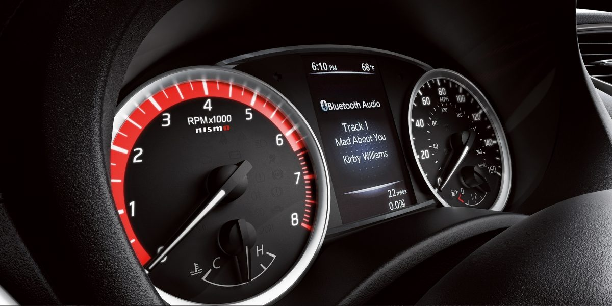 Instrument Cluster in the 2019 Sentra