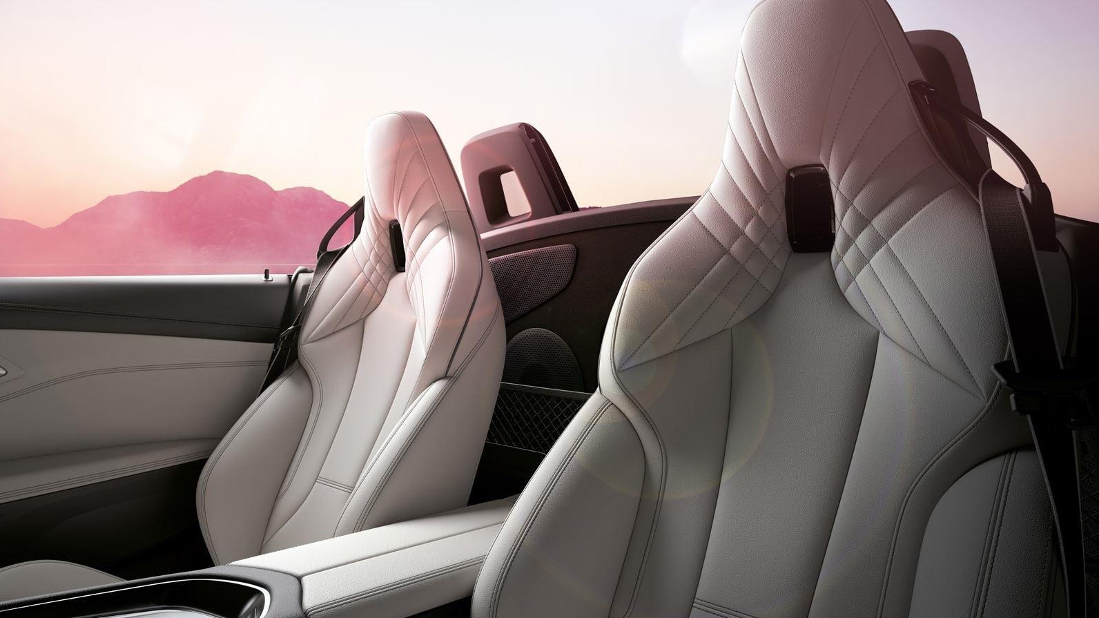 2020 BMW Z4 Seating