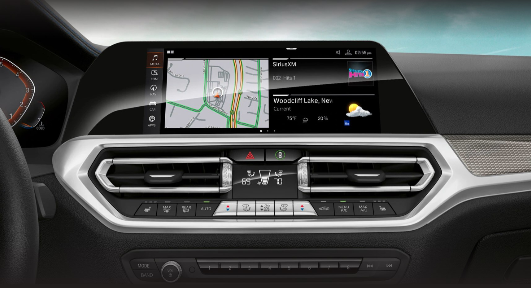 2020 3 Series Infotainment System