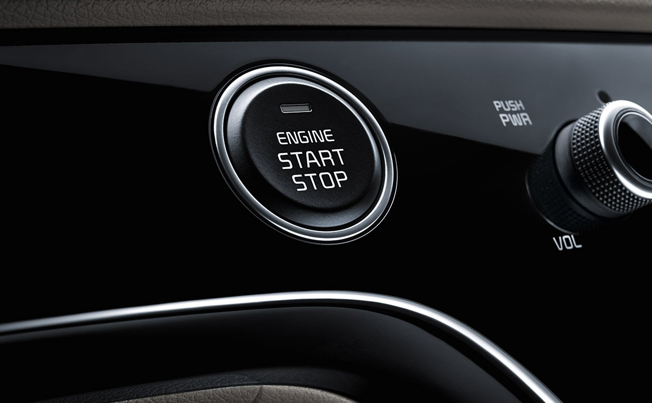 Push Button Start in the 2020 Sportage