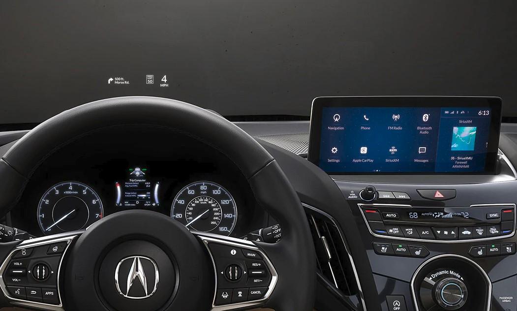 2020 Acura RDX Cockpit