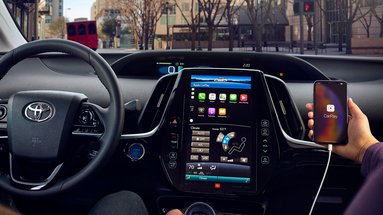 Apple CarPlay® in the 2020 Prius Prime