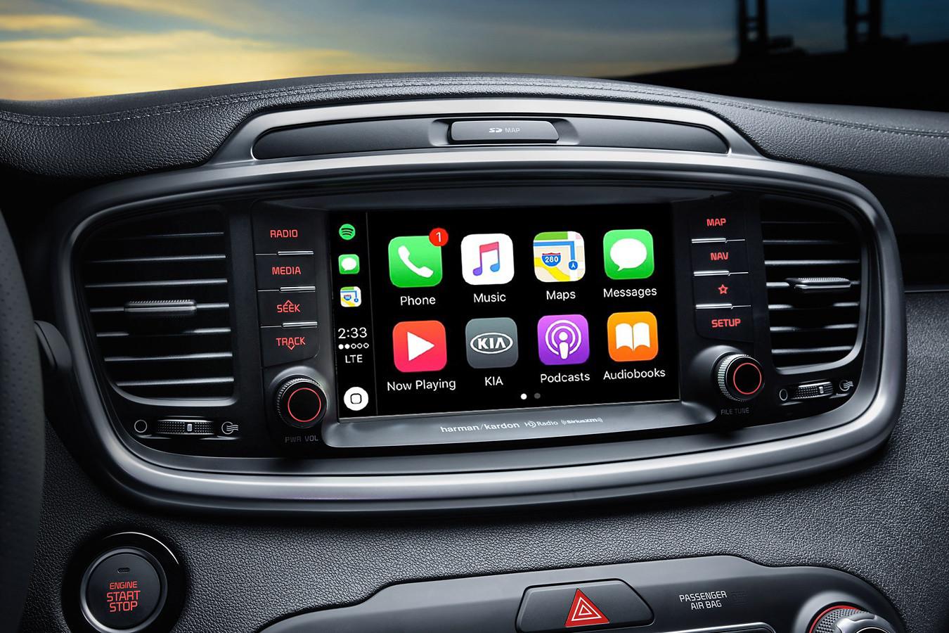 2019 Kia Sorento Touchscreen Display