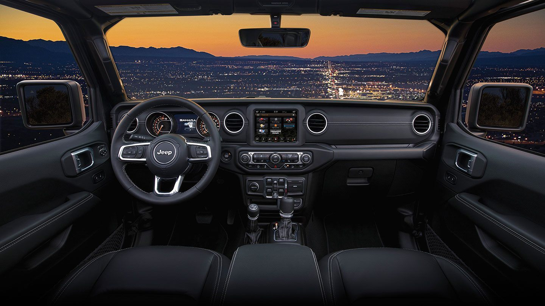 2019 Jeep Wrangler Cockpit