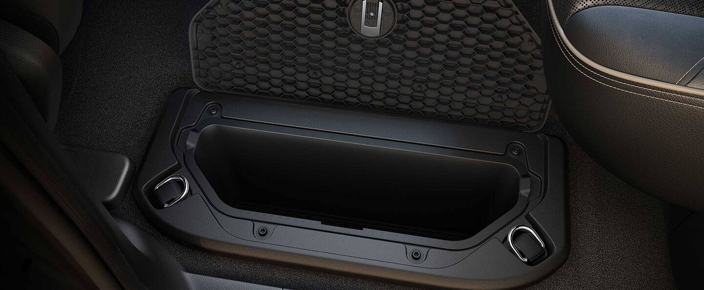 2019 Ram 1500 Interior Storage Space