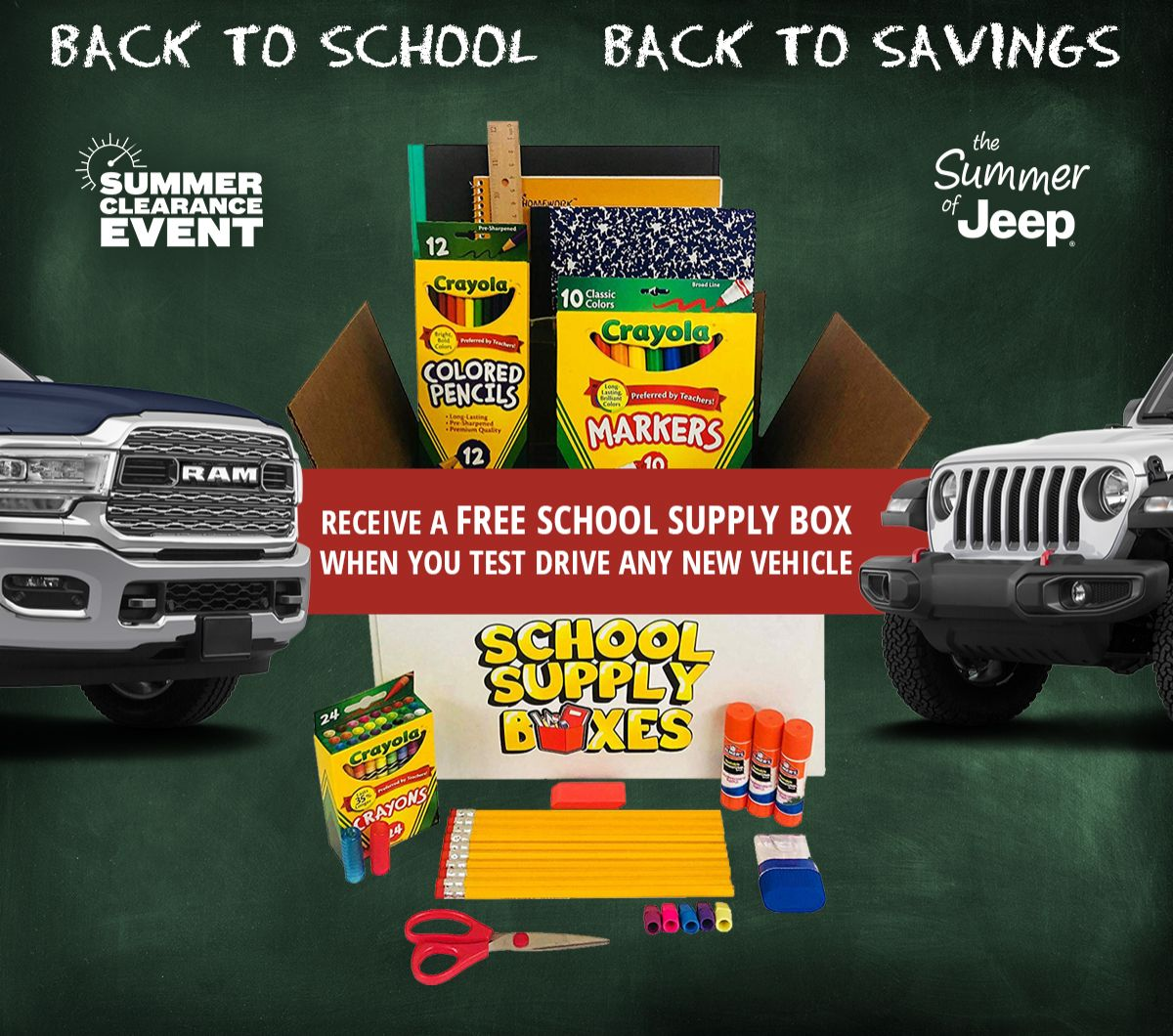 Back To School Savings Special