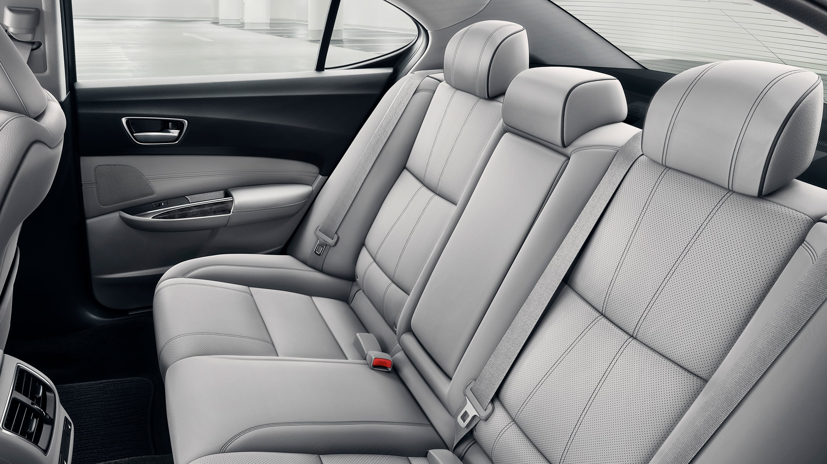 Back Row of the 2020 TLX