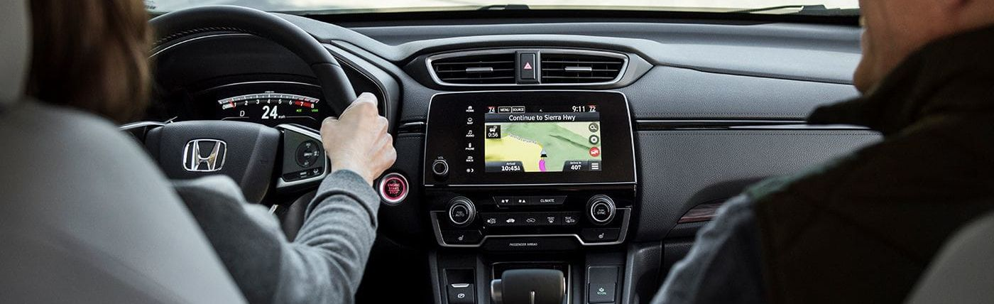Touchscreen in the 2019 CR-V