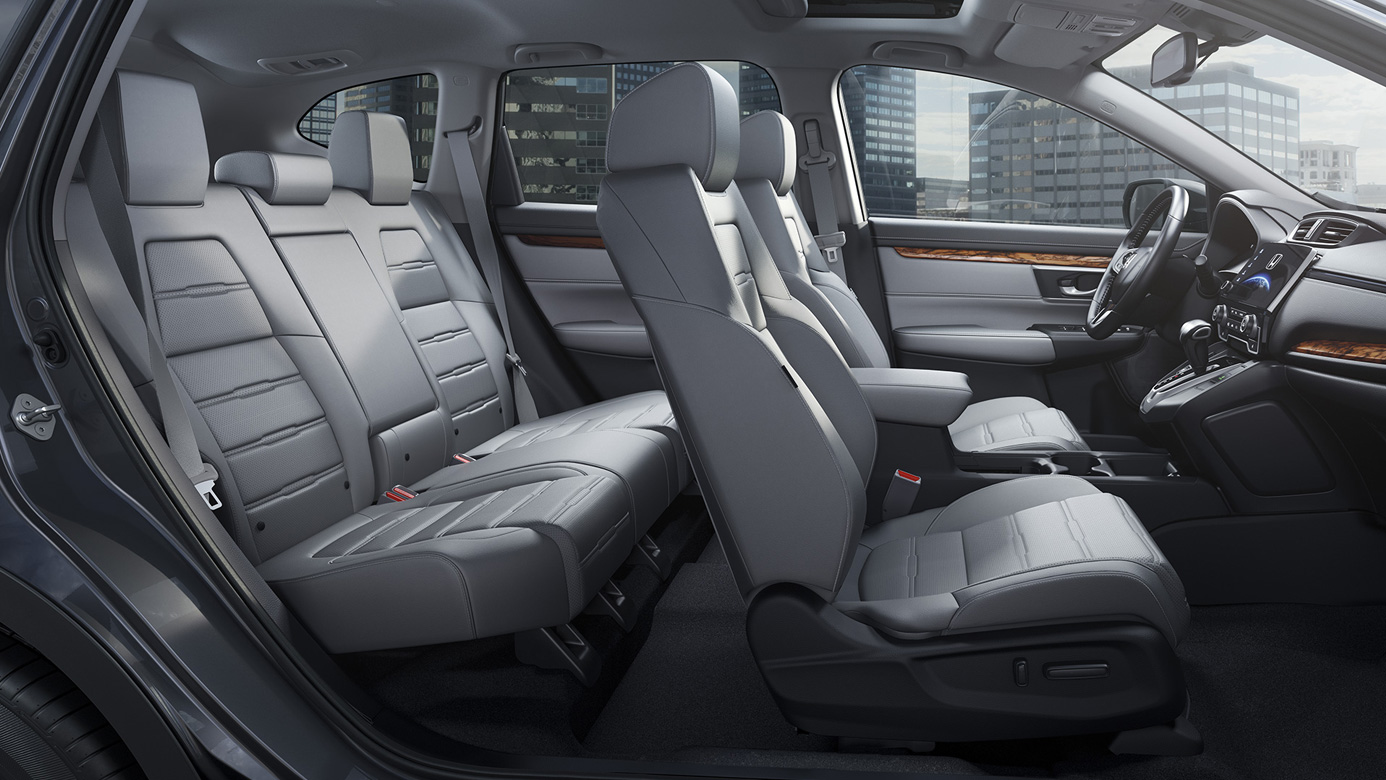 Cabin of the 2019 Honda CR-V