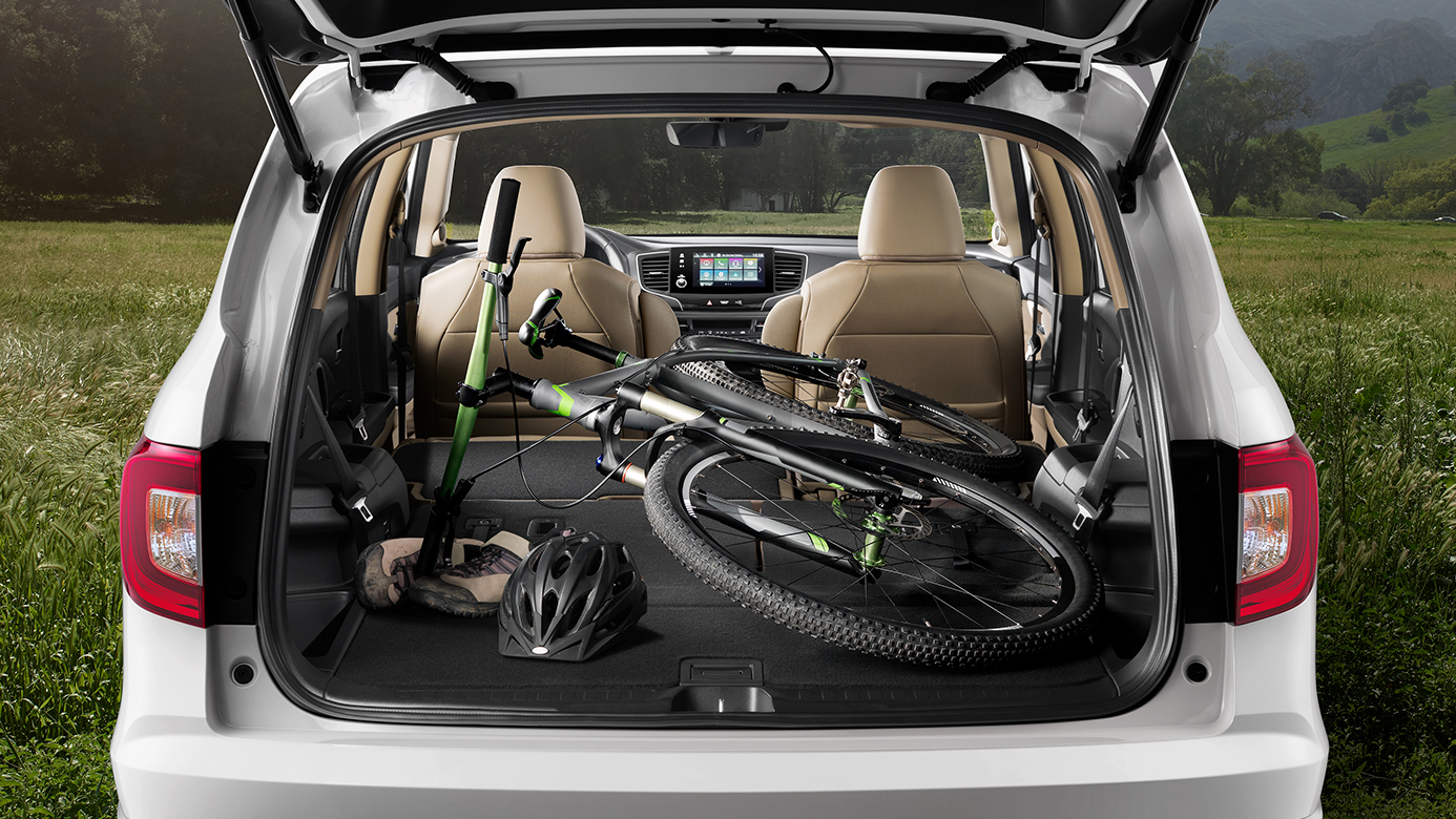 Cargo Space in the 2019 Pilot