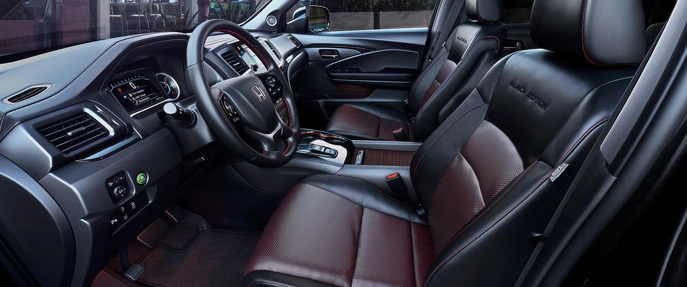 2020 Honda Pilot Black Edition Interior