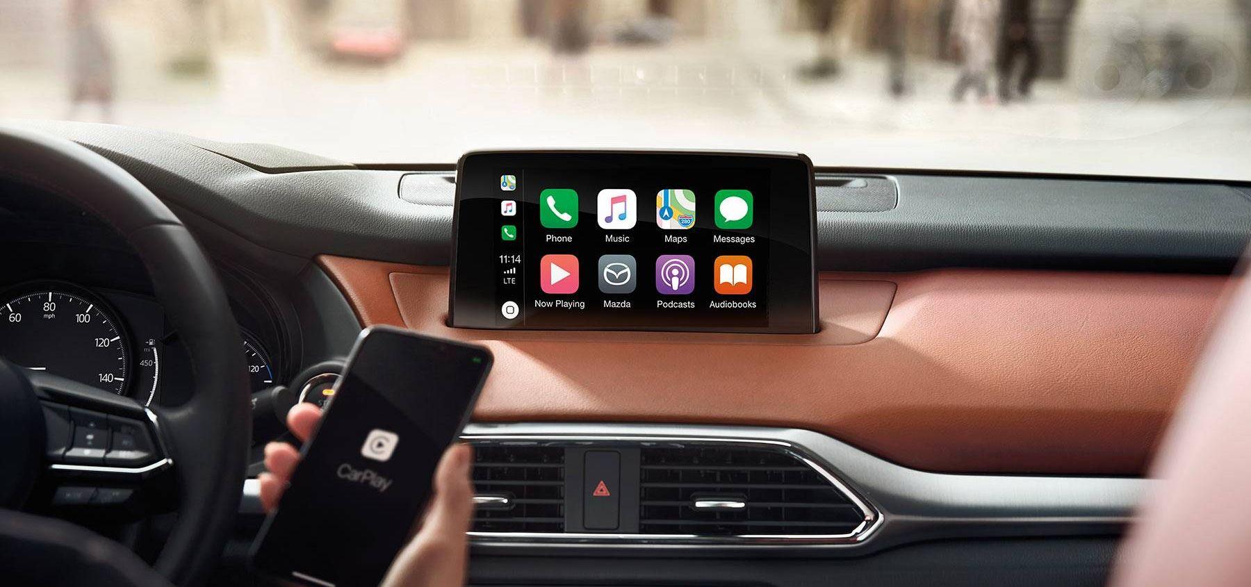 Apple CarPlay™ in the 2019 Mazda CX-9