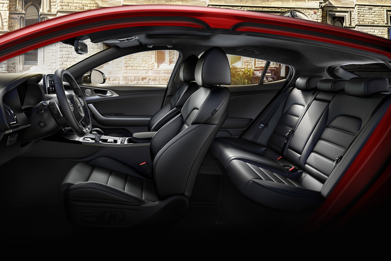 Interior of the 2019 Stinger