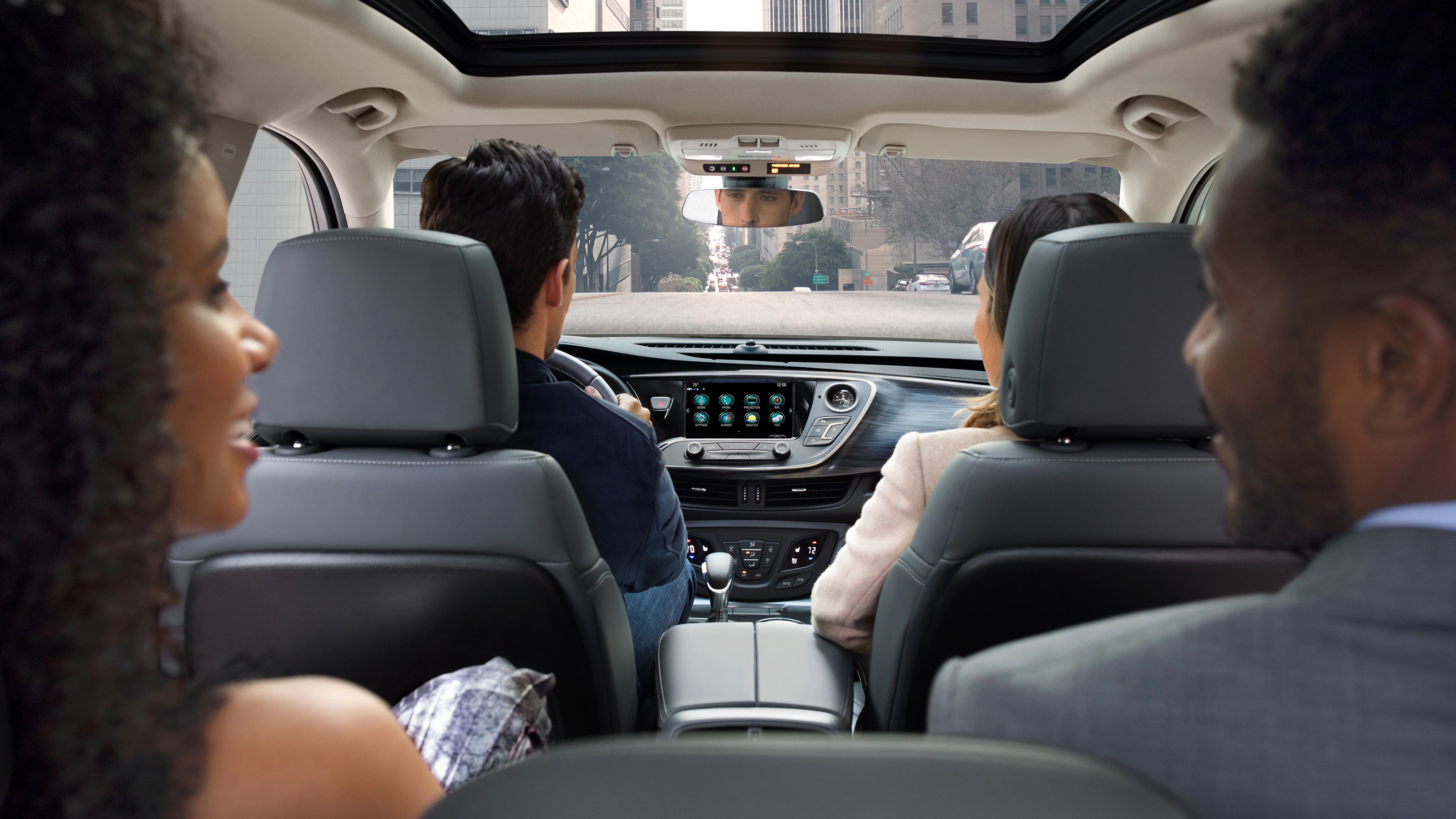 The Roomy Interior of the 2019 Envision