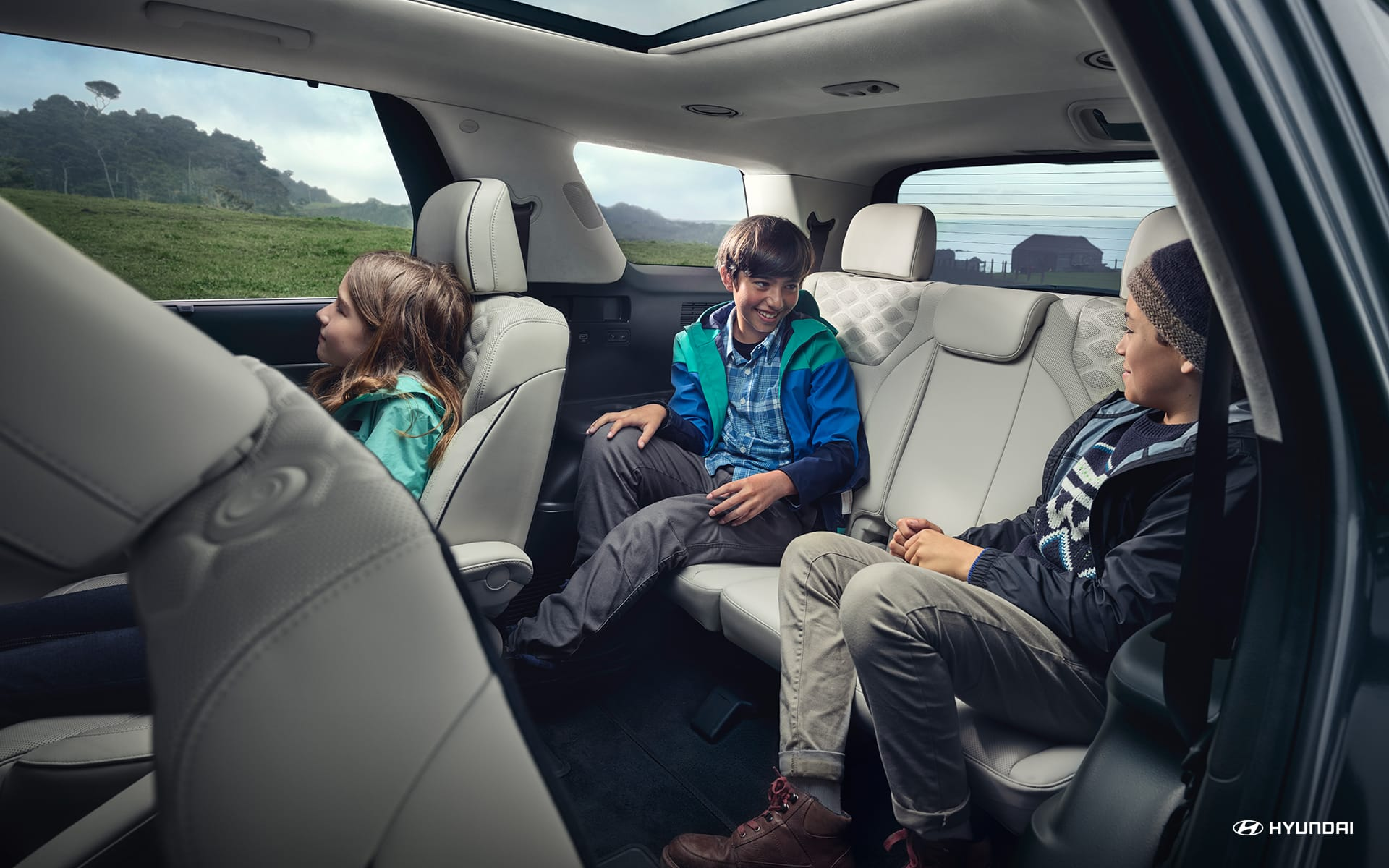 Spacious Cabin of the 2020 Palisade