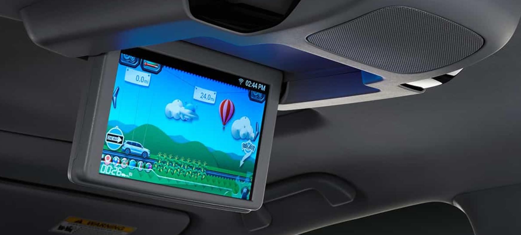 2020 Pilot Rear-Seat Entertainment
