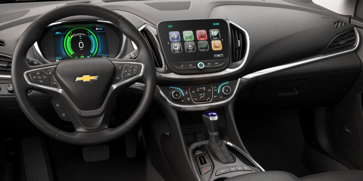 Interior of the 2019 Volt