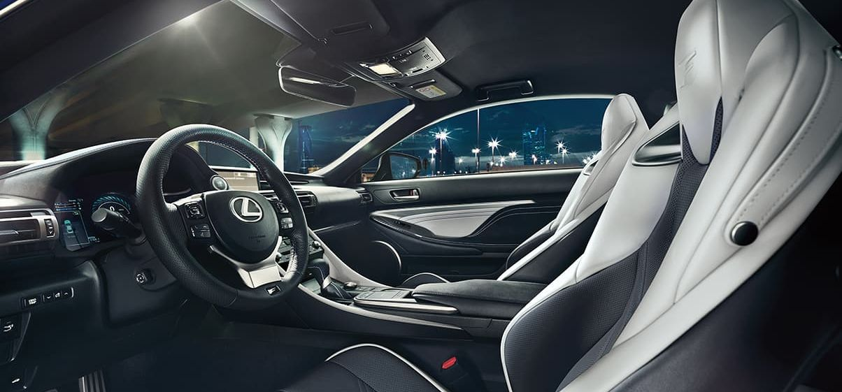 Premium Interior of the 2020 RC F