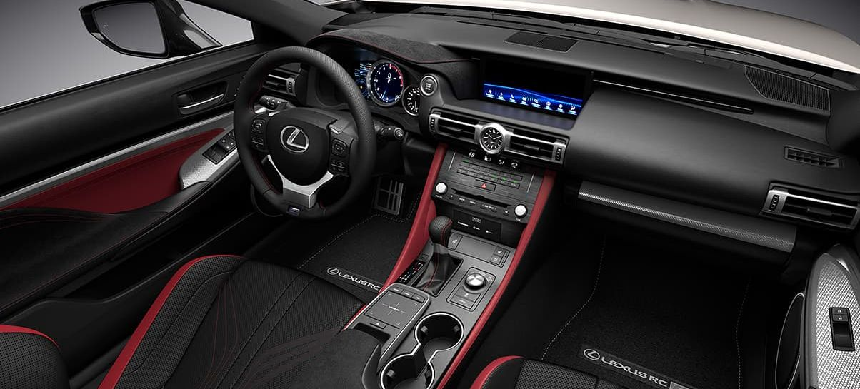 Take Command of the 2020 Lexus RC F