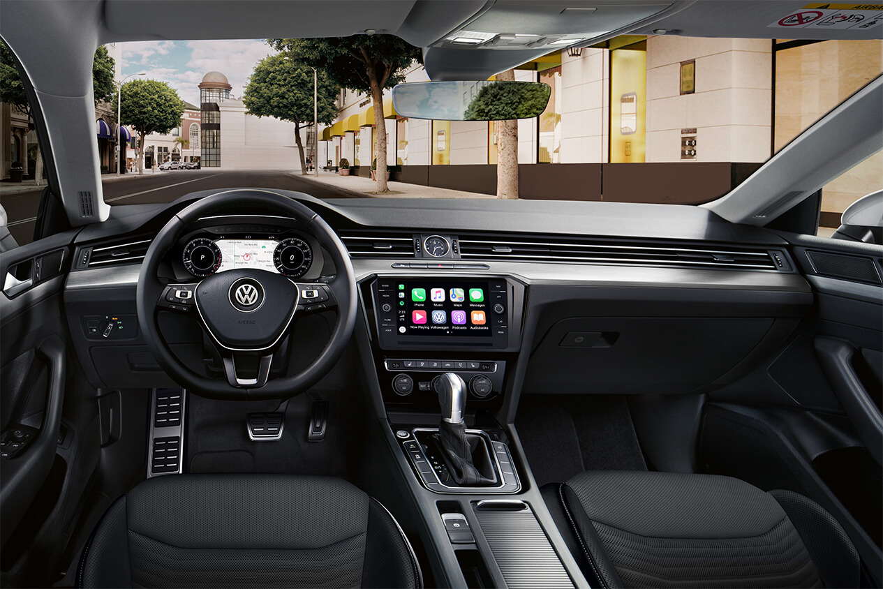 Interior of the 2019 Arteon