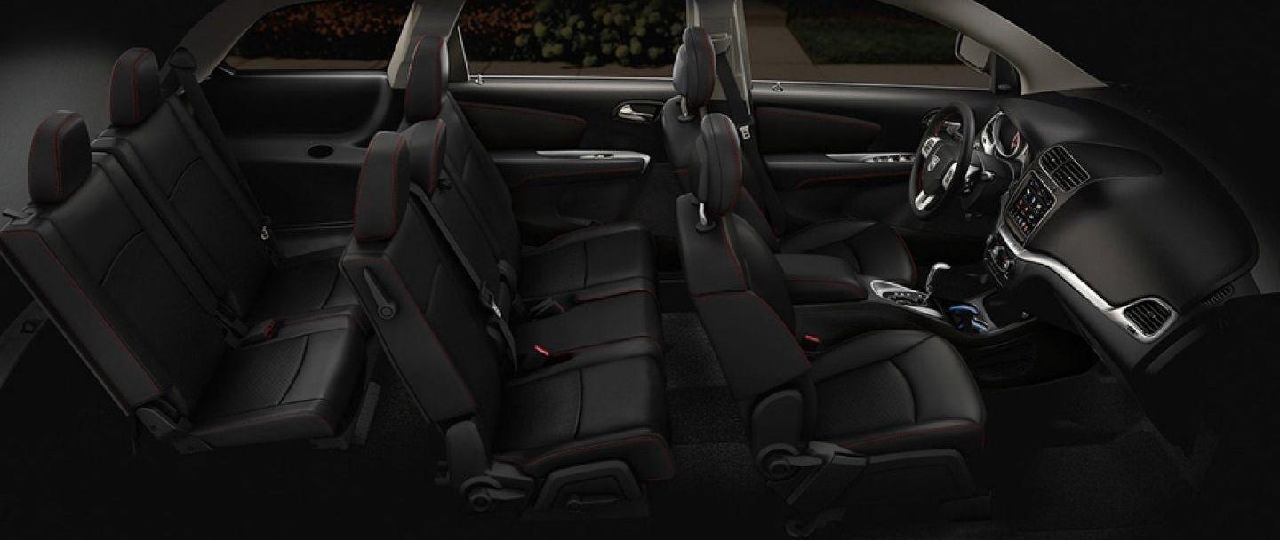 The Spacious Cabin of the 2019 Dodge Journey