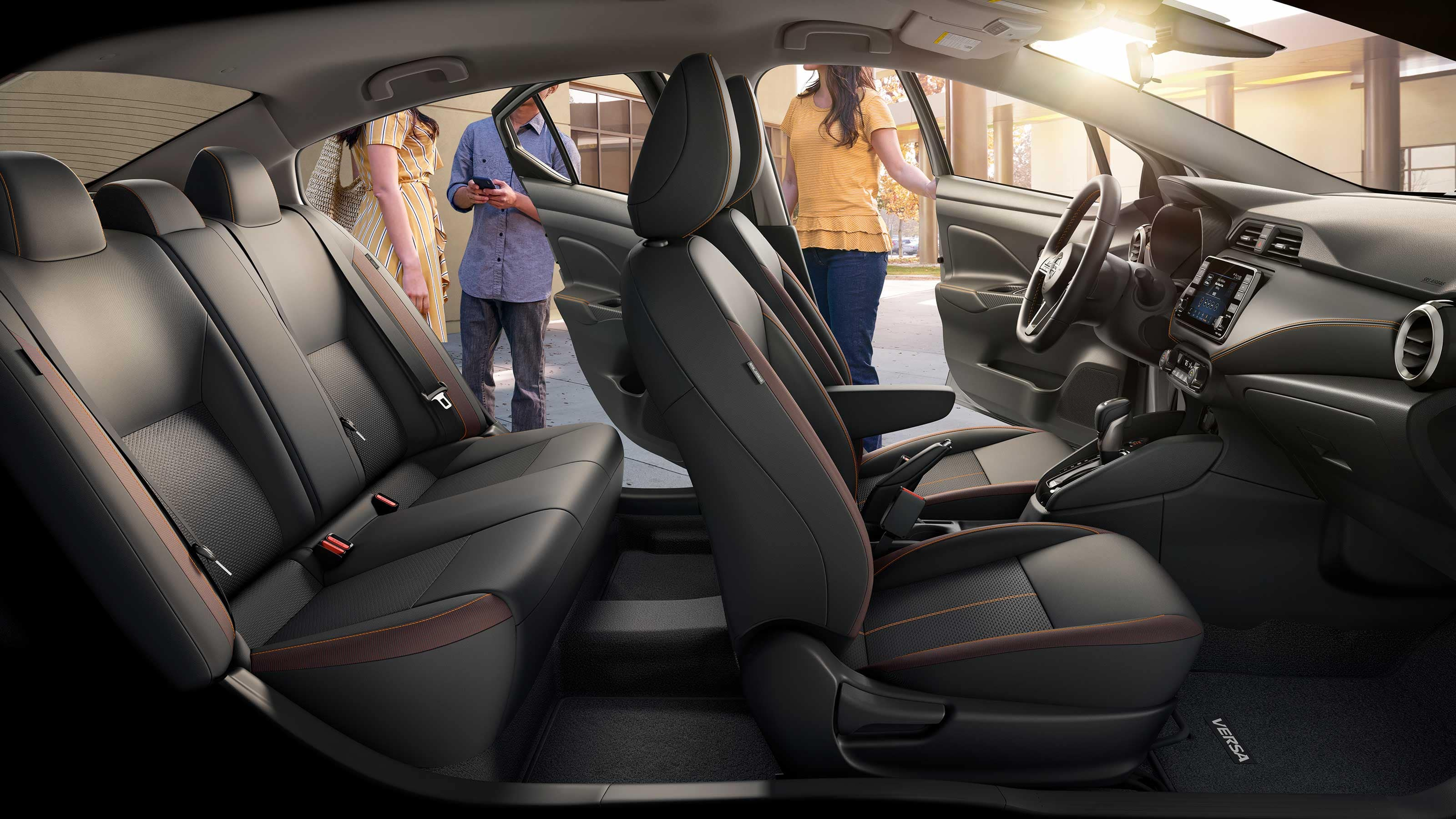 2020 Nissan Versa Full Seating
