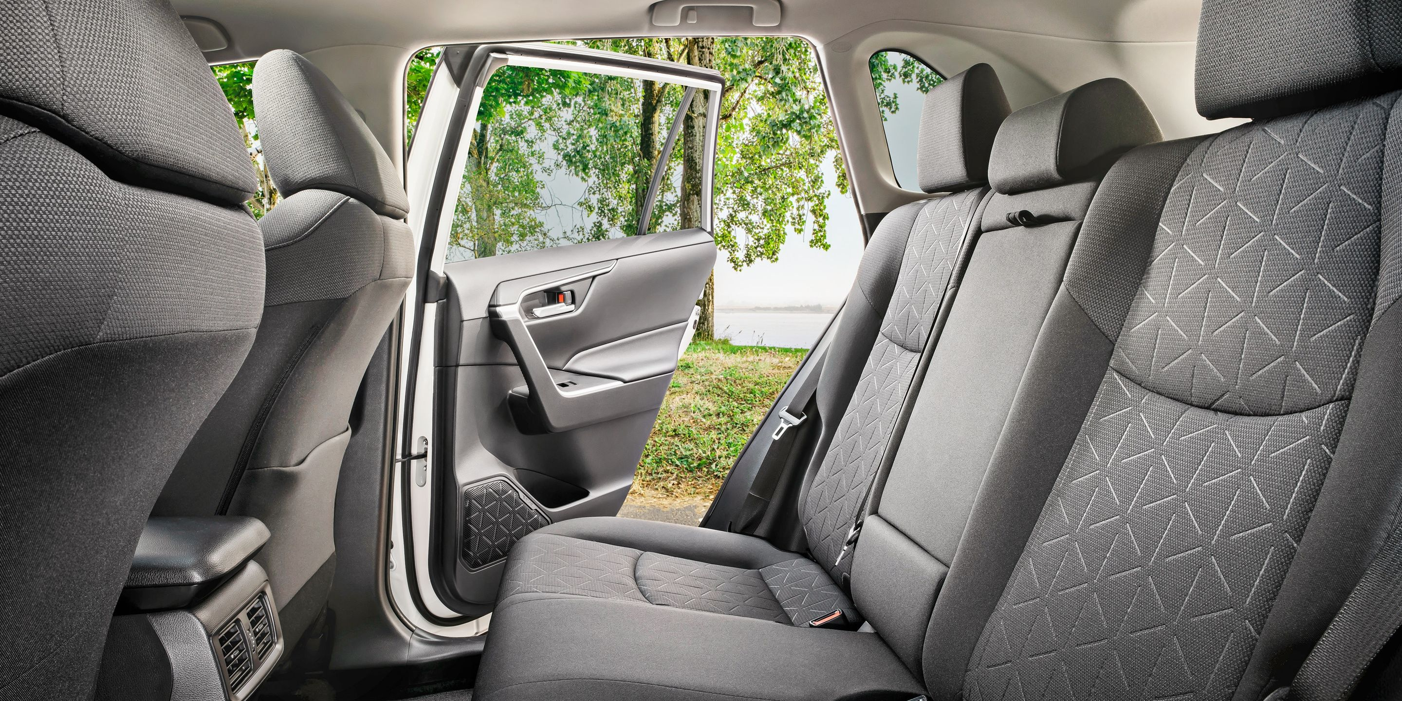 2019 Toyota RAV4 Rear Seating