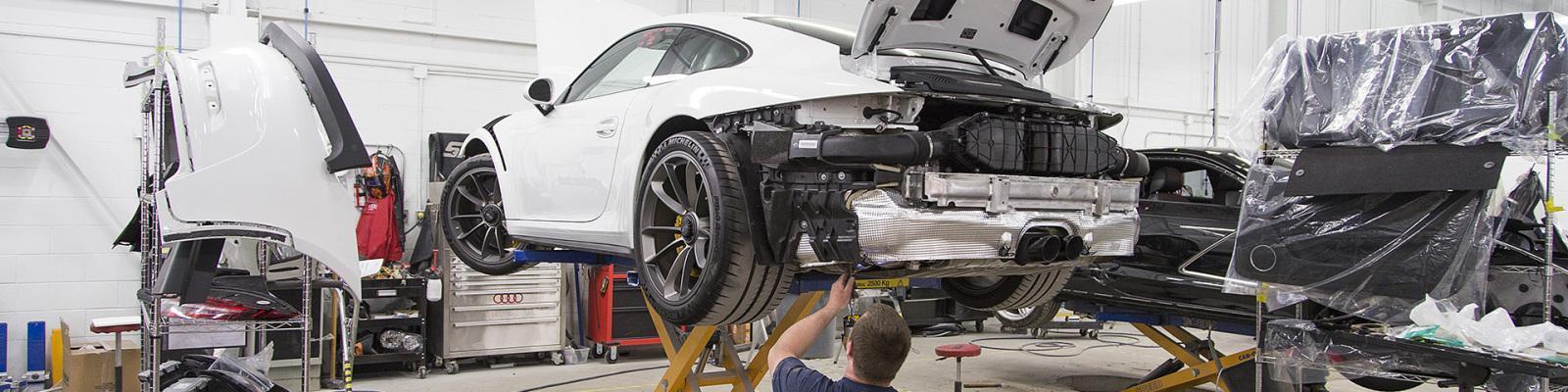 Body Repair Shop Near Me >> Porsche Auto Body Repair Collision In Greensboro Nc