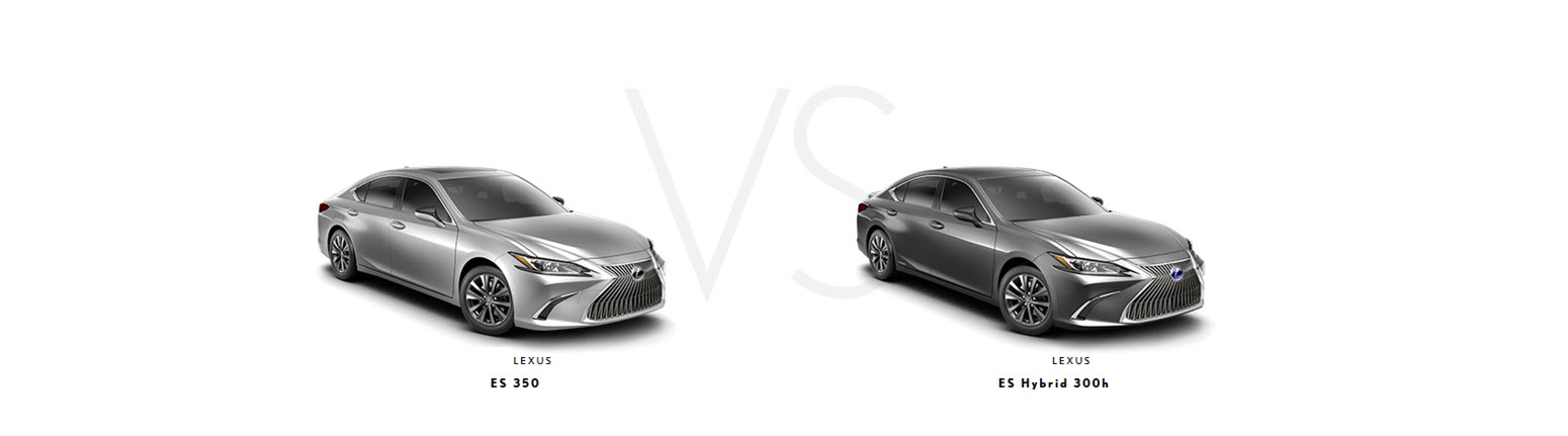 What Is The Difference Between The 2019 Lexus Es 350 And 300h