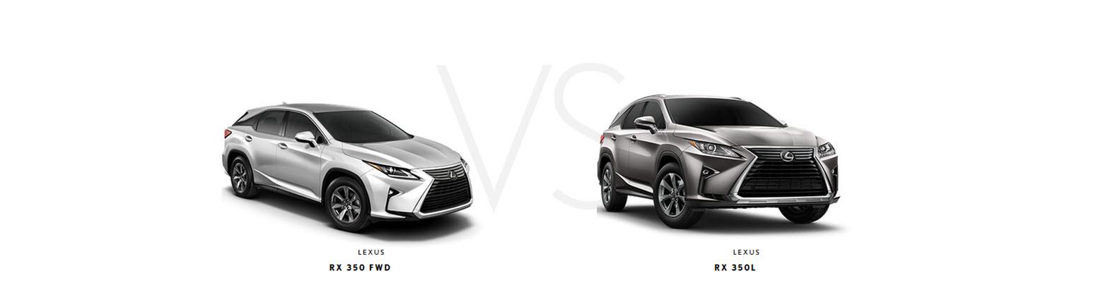 Lexus RX 350 vs RX 350L