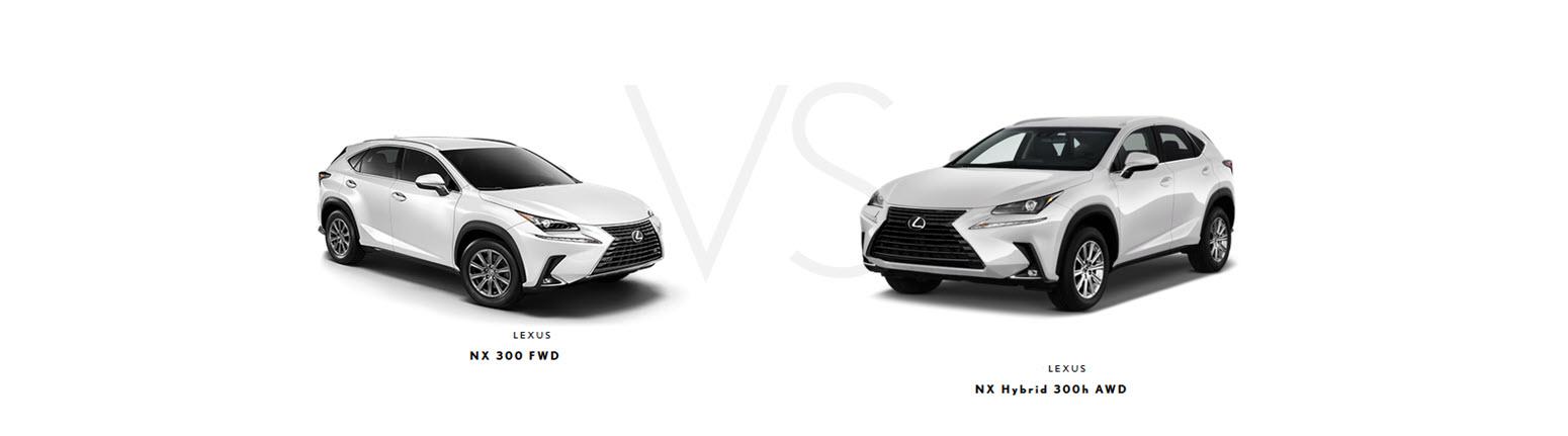Lexus NX 300 vs 300h