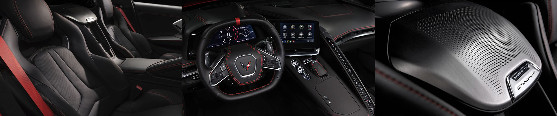 2020 Chevrolette Corvette interior