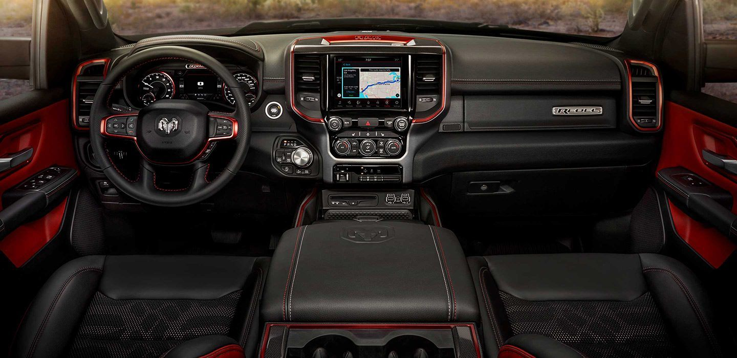 Refined Cabin of the 2019 Ram 1500