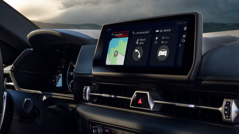 2020 Toyota Supra Screen Display
