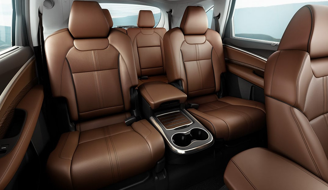 Luxurious Interior of the 2020 MDX