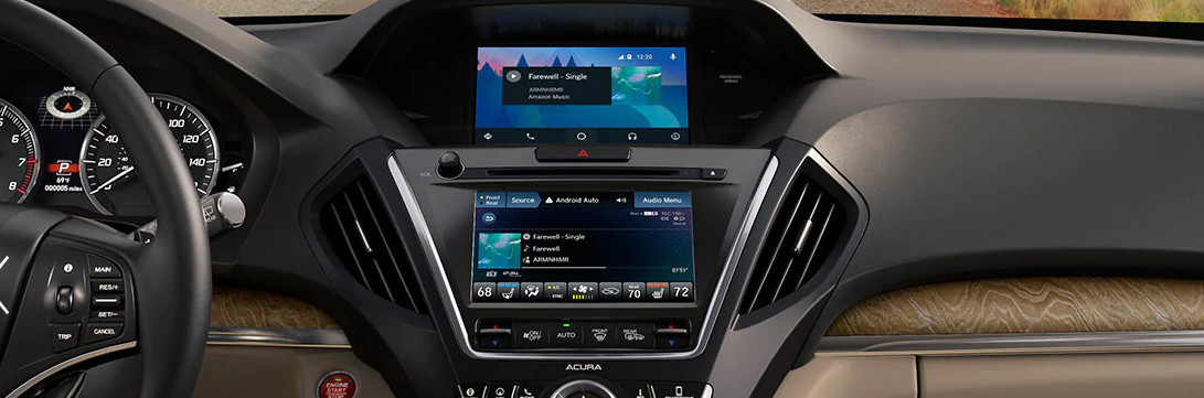 Intuitive Displays in the 2020 MDX