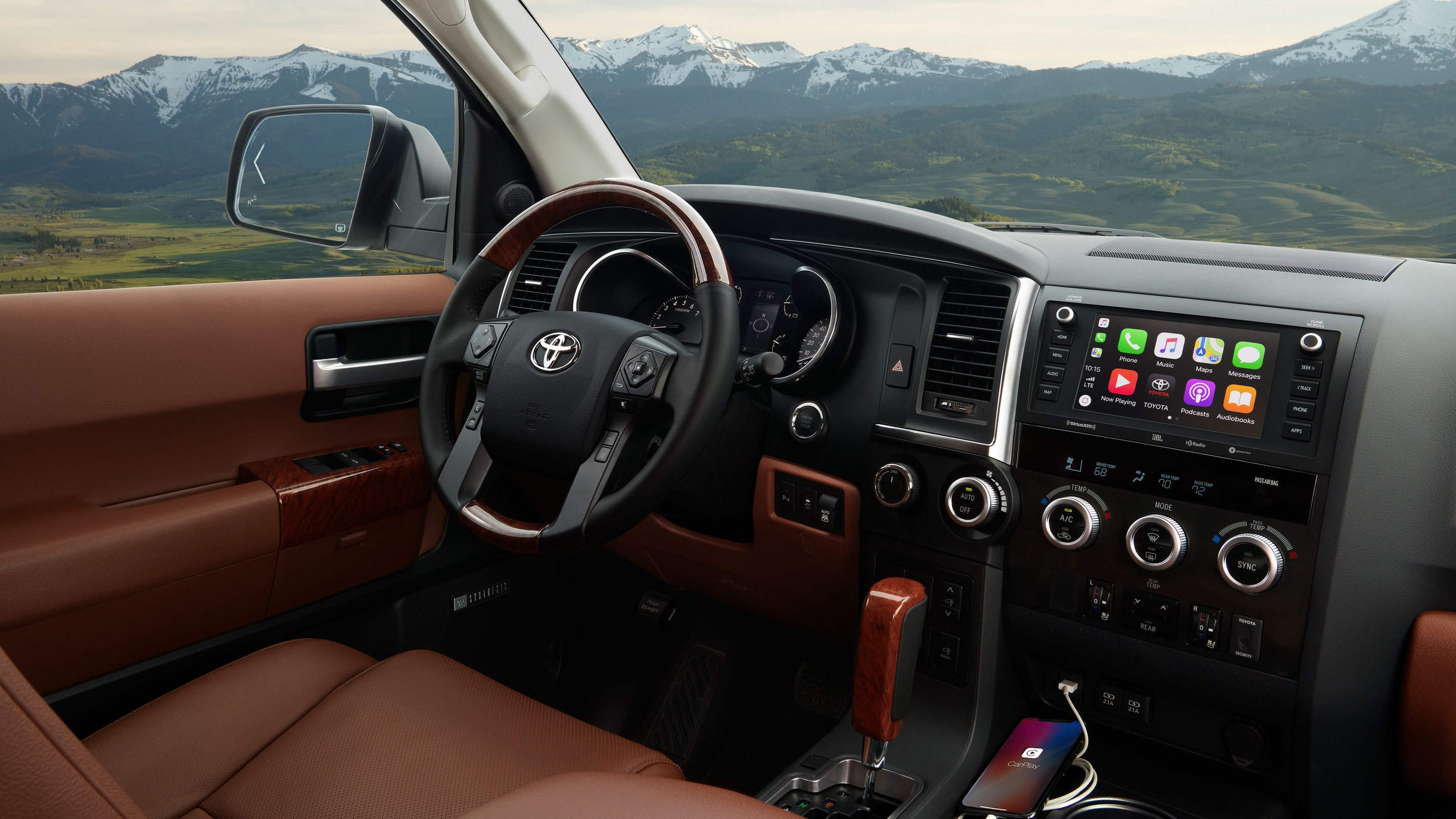 2020 Toyota Sequoia Dashboard