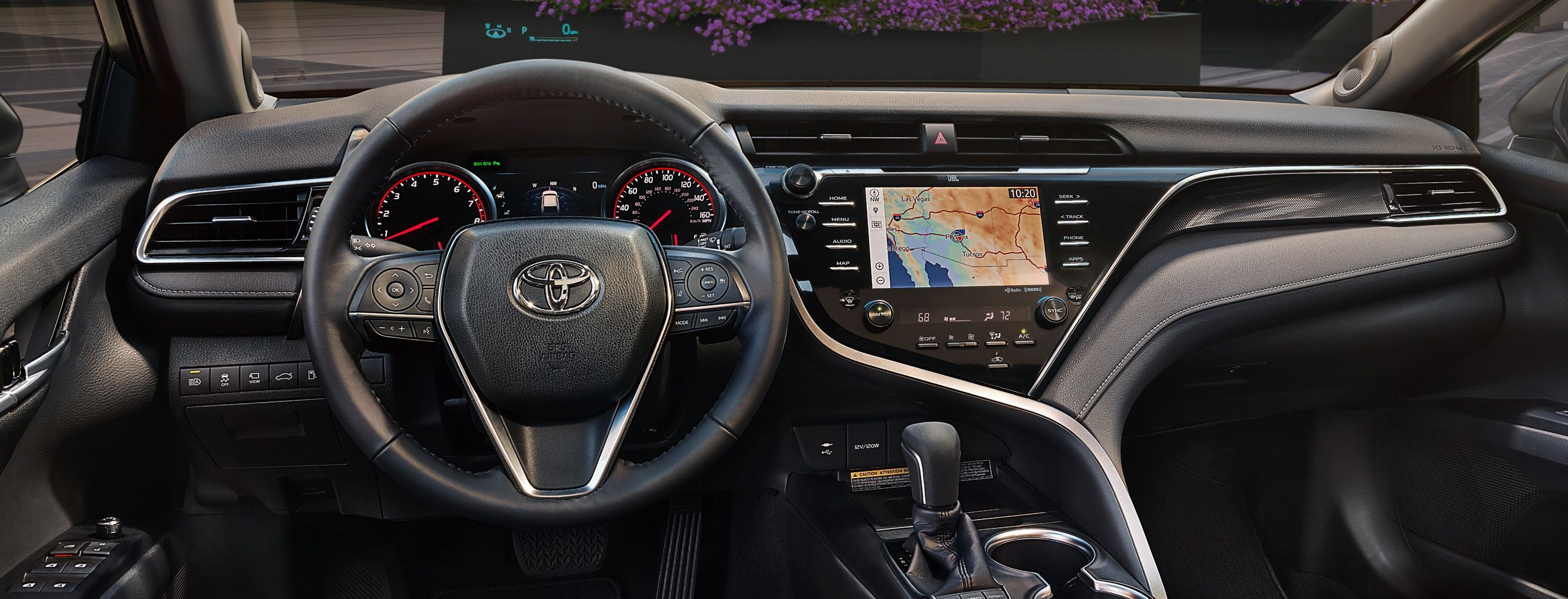Advanced Interior of the 2019 Camry