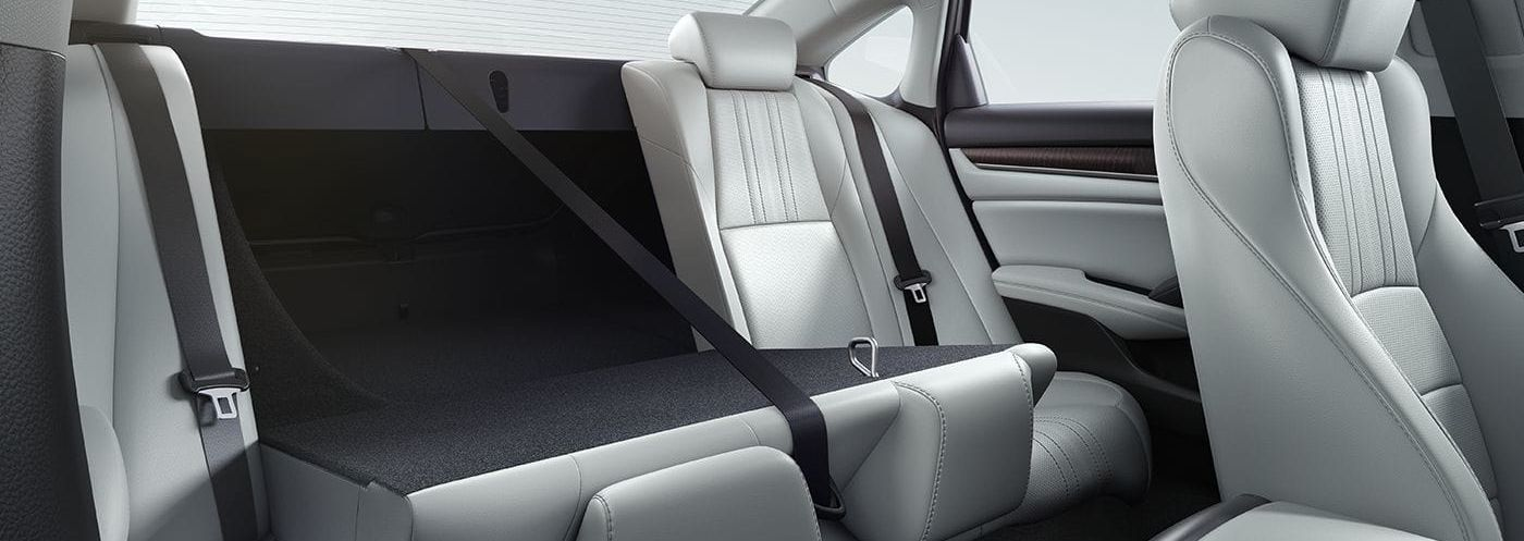 The Spacious Interior of the 2019 Accord