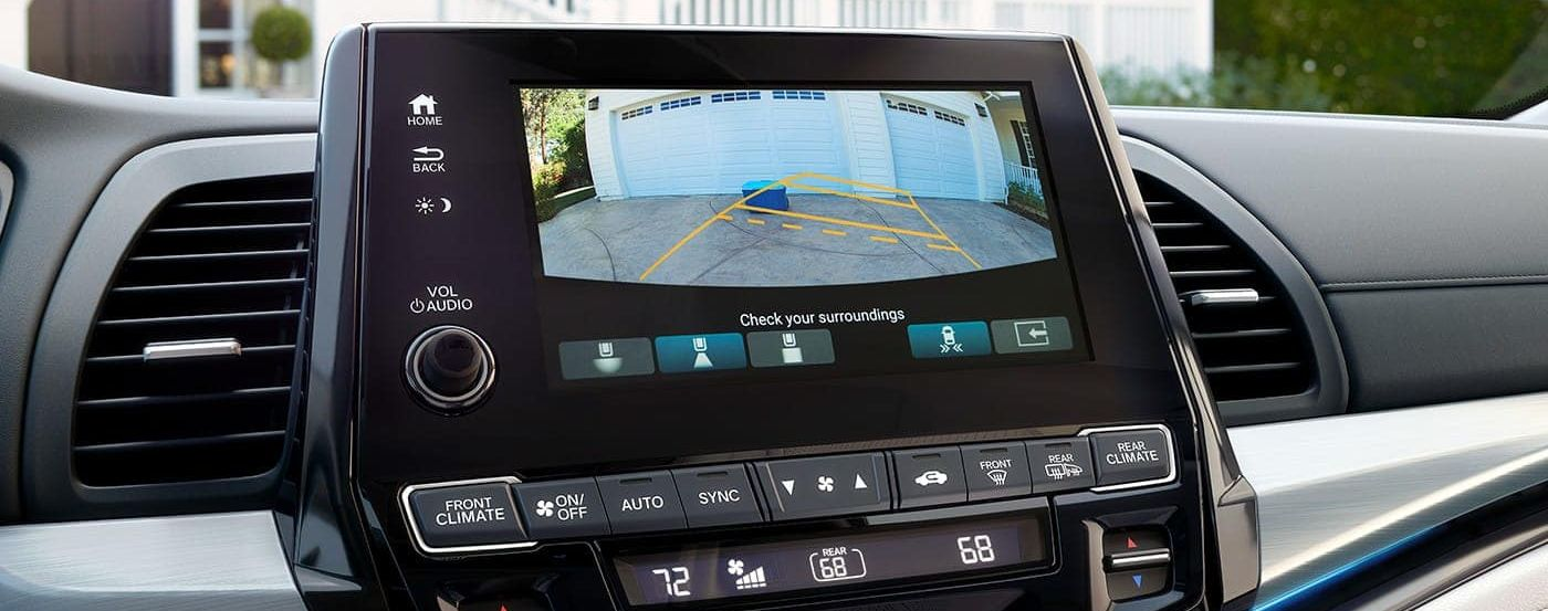 Rear Vision Camera in the 2019 Odyssey