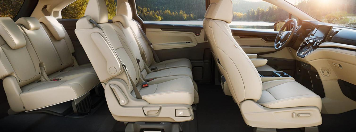 Premium Cabin of the 2020 Honda Odyssey