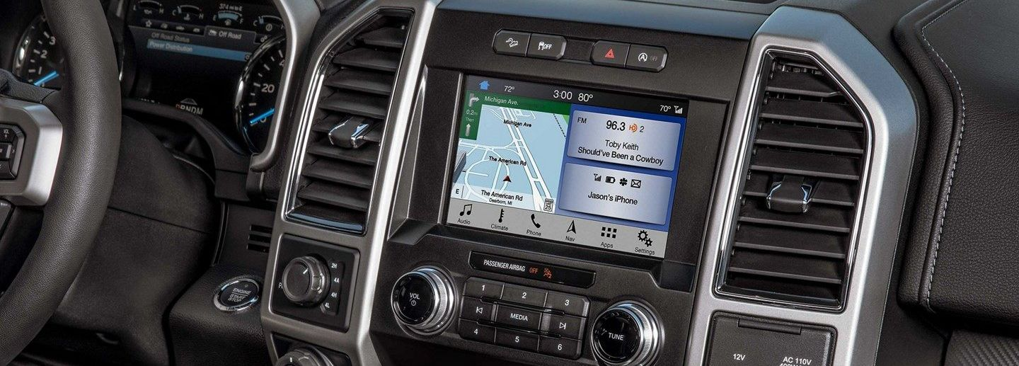 SYNC® 3 System in the 2019 F-150